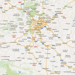 Mapa zona de actuación horsevet veterinario de caballos.